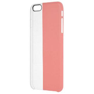 Capa Para iPhone 6 Plus Transparente laranja da coleção do caso