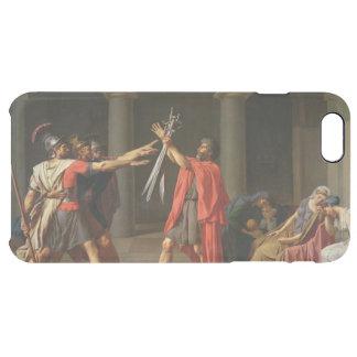 Capa Para iPhone 6 Plus Transparente O juramento de Horatii, 1784