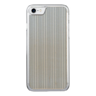 Capa Para iPhone 8/ 7 Carved Listras verticais dos azuis bebés Pastel