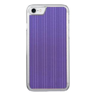 Capa Para iPhone 8/ 7 Carved Listras verticais dos azuis cobaltos