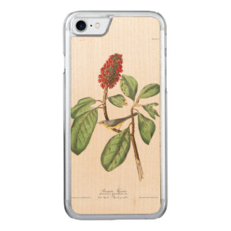 Capa Para iPhone 8/ 7 Carved O Flycatcher de Bonaparte da placa 5 de Audubon