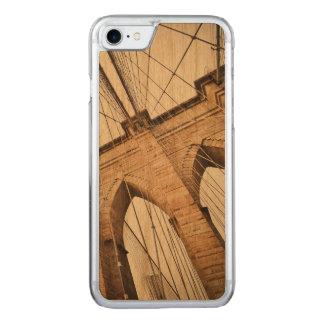 Capa Para iPhone 8/ 7 Carved Ponte de Brooklyn