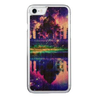 Capa Para iPhone 8/ 7 Carved Sonhos iridescentes de Taj Mahal