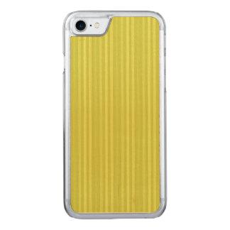 Capa Para iPhone 8/ 7 Carved Verde amarelo Chartreuse de listras verticais