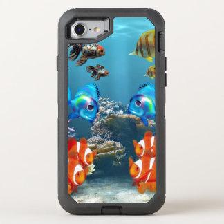 Capa Para iPhone 8/7 OtterBox Defender Aquário Sealife