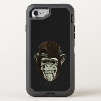 Capa Para iPhone 8/7 OtterBox Defender Chimpanzé do hipster