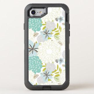 Capa Para iPhone 8/7 OtterBox Defender Fundo floral