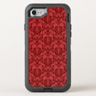Capa Para iPhone 8/7 OtterBox Defender Papel de parede vermelho