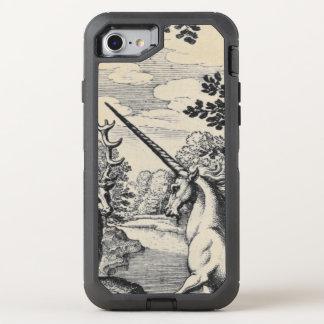 Capa Para iPhone 8/7 OtterBox Defender Unicórnio na floresta