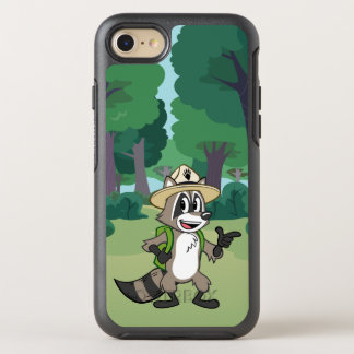 Capa Para iPhone 8/7 OtterBox Symmetry Apontar do rick da guarda florestal do rick | da