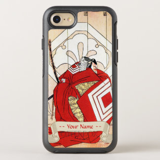 Capa Para iPhone 8/7 OtterBox Symmetry Arte legendária japonesa legal do guerreiro do
