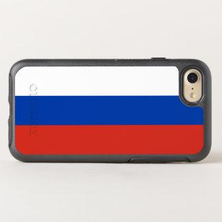 Capa Para iPhone 8/7 OtterBox Symmetry Bandeira de capas de iphone de Rússia OtterBox