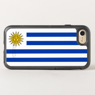 Capa Para iPhone 8/7 OtterBox Symmetry Bandeira de capas de iphone de Uruguai OtterBox