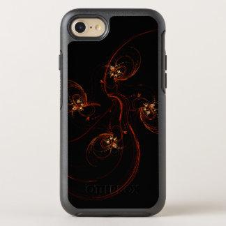 Capa Para iPhone 8/7 OtterBox Symmetry Fora da arte abstracta escura