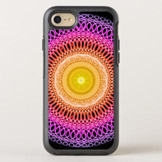 Capa Para iPhone 8/7 OtterBox Symmetry Mandala oriental do mosaico