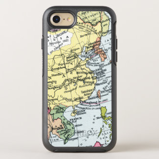 CAPA PARA iPhone 8/7 OtterBox SYMMETRY MAPA: EUROPA EM ÁSIA