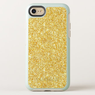 Capa Para iPhone 8/7 OtterBox Symmetry O na moda moderno do brilho do ouro Sparkles Bling