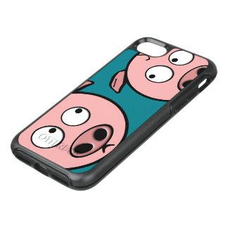 Capa Para iPhone 8/7 OtterBox Symmetry Porcos curiosos bonitos