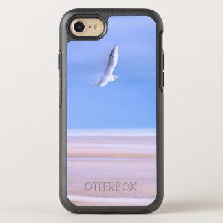 Capa Para iPhone 8/7 OtterBox Symmetry Praia na gaivota dos Pastels em vôo
