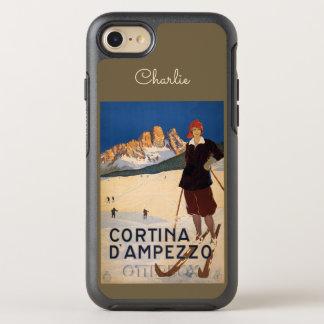 Capa Para iPhone 8/7 OtterBox Symmetry Telefone do nome do esqui de Italia