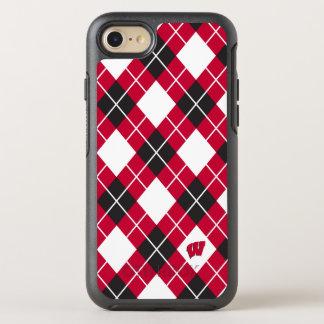 Capa Para iPhone 8/7 OtterBox Symmetry Teste padrão de Wisconsin | Argyle