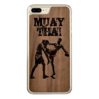 Capa Para iPhone 8 Plus/ 7 Plus Carved iPhone tailandês de Muay, tailandês do