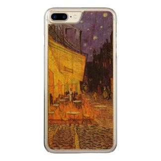 Capa Para iPhone 8 Plus/ 7 Plus Carved Terraço do café de Vincent van Gogh em belas artes