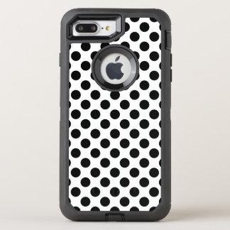 Capa Para iPhone 8 Plus/7 Plus OtterBox Defender Bolinhas pretas