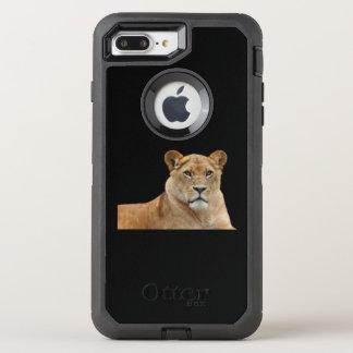 Capa Para iPhone 8 Plus/7 Plus OtterBox Defender Caso de Otterbox da leoa