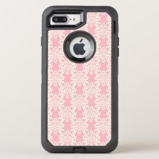 Capa Para iPhone 8 Plus/7 Plus OtterBox Defender Damasco retro floral