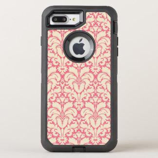 Capa Para iPhone 8 Plus/7 Plus OtterBox Defender Fundo barroco 2 do damasco do estilo