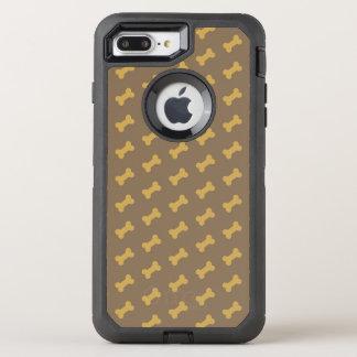 Capa Para iPhone 8 Plus/7 Plus OtterBox Defender osso para a textura do cão