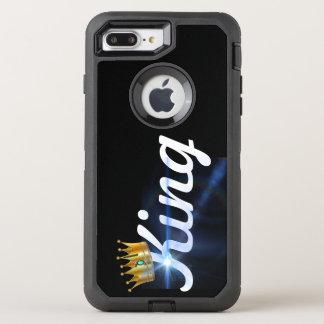 Capa Para iPhone 8 Plus/7 Plus OtterBox Defender Rei de brilho, caso de Otterbox