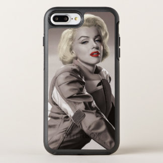 Capa Para iPhone 8 Plus/7 Plus OtterBox Symmetry A motocicleta de Marilyn