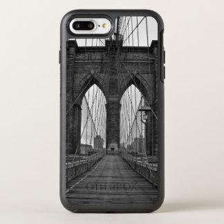 Capa Para iPhone 8 Plus/7 Plus OtterBox Symmetry A ponte de Brooklyn na Nova Iorque