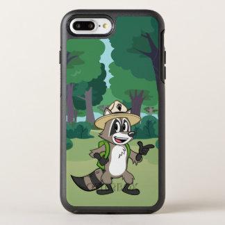 Capa Para iPhone 8 Plus/7 Plus OtterBox Symmetry Apontar do rick da guarda florestal do rick | da