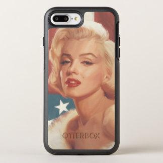Capa Para iPhone 8 Plus/7 Plus OtterBox Symmetry Bandeira de Marilyn