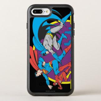 Capa Para iPhone 8 Plus/7 Plus OtterBox Symmetry Batman + Superman + Flash