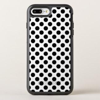 Capa Para iPhone 8 Plus/7 Plus OtterBox Symmetry Bolinhas pretas