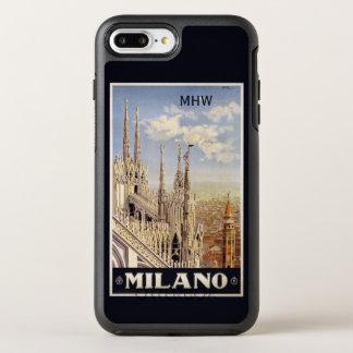 Capa Para iPhone 8 Plus/7 Plus OtterBox Symmetry Casos feitos sob encomenda do monograma de Milão