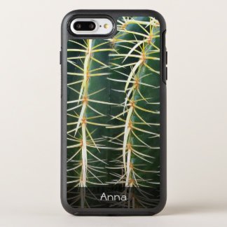 Capa Para iPhone 8 Plus/7 Plus OtterBox Symmetry Foto botânica do cacto tropical da esfera algum