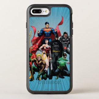 Capa Para iPhone 8 Plus/7 Plus OtterBox Symmetry Liga de justiça - grupo 2