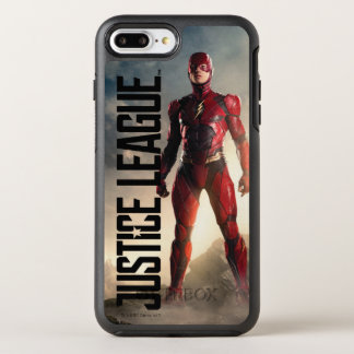 Capa Para iPhone 8 Plus/7 Plus OtterBox Symmetry Liga de justiça | o flash no campo de batalha
