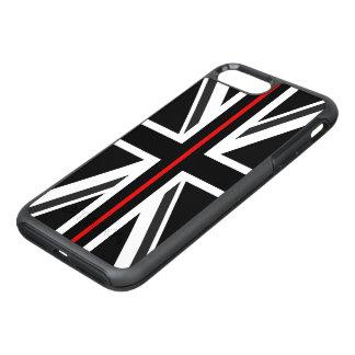 Capa Para iPhone 8 Plus/7 Plus OtterBox Symmetry Linha vermelha fina bandeira do Reino Unido