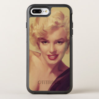 Capa Para iPhone 8 Plus/7 Plus OtterBox Symmetry Marilyn no preto