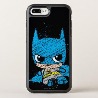 Capa Para iPhone 8 Plus/7 Plus OtterBox Symmetry Mini esboço de Batman