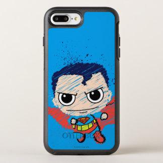 Capa Para iPhone 8 Plus/7 Plus OtterBox Symmetry Mini esboço do superman