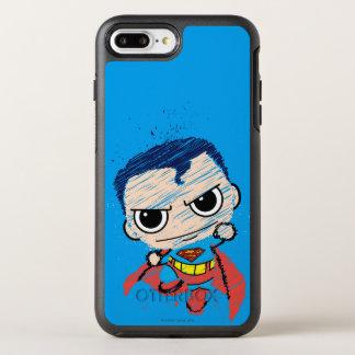 Capa Para iPhone 8 Plus/7 Plus OtterBox Symmetry Mini esboço do superman - vôo