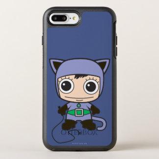 Capa Para iPhone 8 Plus/7 Plus OtterBox Symmetry Mini mulher do gato