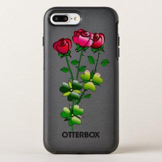 Capa Para iPhone 8 Plus/7 Plus OtterBox Symmetry Otterbox com ilustração dos rosas